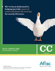 AFLAC Cancer Care