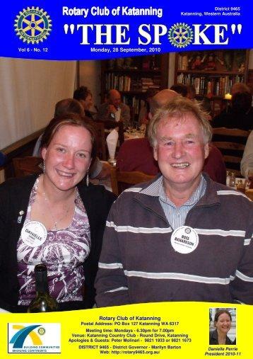 Vol 6-12-Sept 27 - Katanning Rotary Club