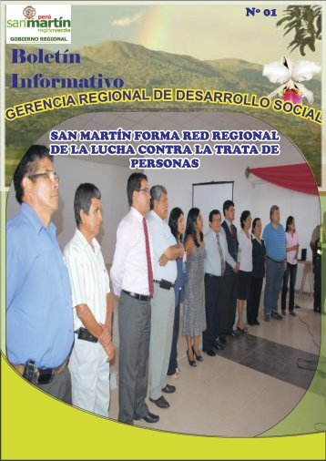 Descargar | (2013-05-14). boletin Nº 01 - Gobierno Regional de San ...