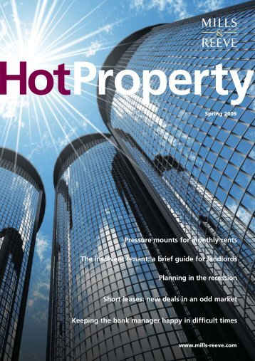 Hot Property - Spring 2009 - Mills & Reeve