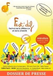 Dossier de presse Fest Dif - APF 69