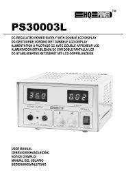 Ps3003l GB-NL-FR-ES-D - Velleman.eu