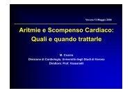 aritmie e SCC - Cuorediverona.it