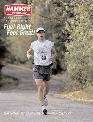 Fuel Right, Feel Great! - Hammer Nutrition