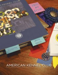 2011 AKC Annual Report - Parent Directory - American Kennel Club