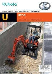 U17 Zero Swing Product Brochure - Super Groups