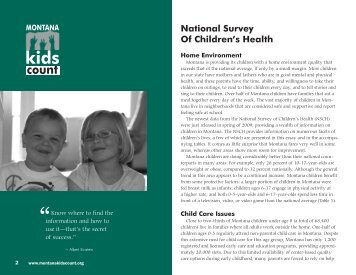 Download PDF - Montana Kids Count
