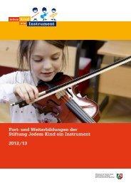 Zum Download des Programms 2012/2013 - Landesmusikakademie ...