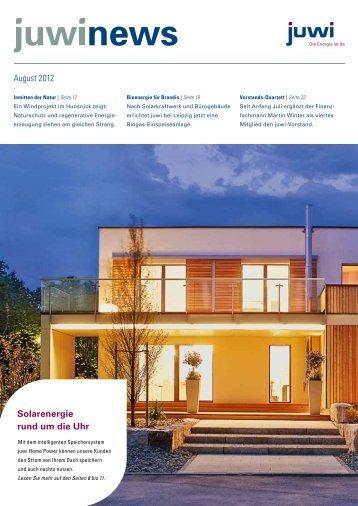 Ausgabe August 2012 - Juwi