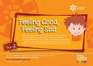 Unit 2: Feeling Good, Feeling Sad