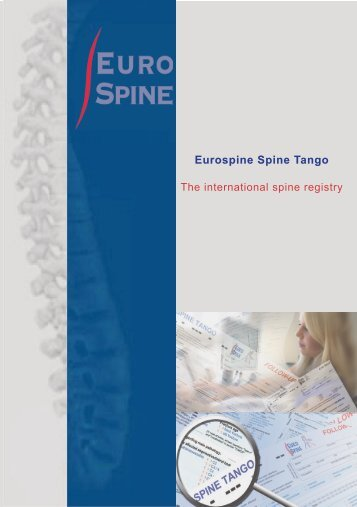 Eurospine Spine Tango - The Spine Society of Europe