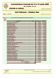 Voti di preferenza totale comune in formato Documento PDF
