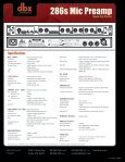 286s Mic Preamp - Dbx - Page 2