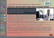 Türkiye Psikiyatri Derneği Genel Sekreteri Doç. Dr ... - Bilişim Dergisi