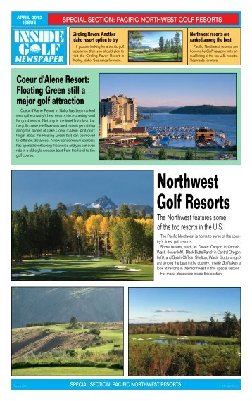 Special Section - Inside Golf Newspaper