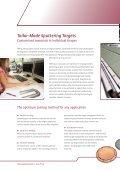Sputtering Targets & Target Bonding - Page 2