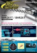 BHR261T / BHR261 Cordless Combination Hammer - Makita - Page 2