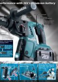 BHR261T / BHR261 Cordless Combination Hammer - Makita - Page 3