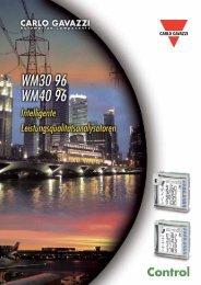 WM40-96 WM30-96 - CARLO GAVAZZI GmbH