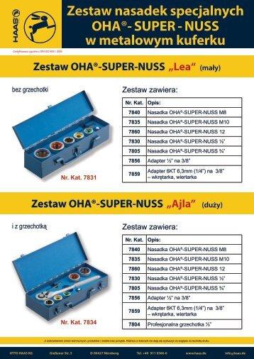 Zestaw OHA®-SUPER-NUSS