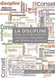 hors-série ECA sur la discipline - ECA - Enseignement catholique ...