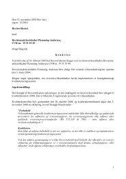1 Den 15. november 2010 blev der i sag nr. 12 ... - Revisornævnet