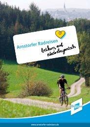 Broschüre Arnstorfer Radreisen - Markt Arnstorf
