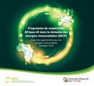 Strategie RECP - Africa-EU Partnership