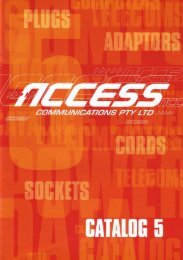 Issue 5 - Access Communications