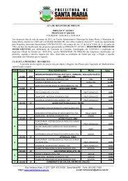 MEMO Nº 21/2002/ SMF/DF/CFP - Prefeitura Municipal de Santa Maria