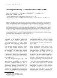 pdf available - UCLA Department of Ecology and Evolutionary Biology