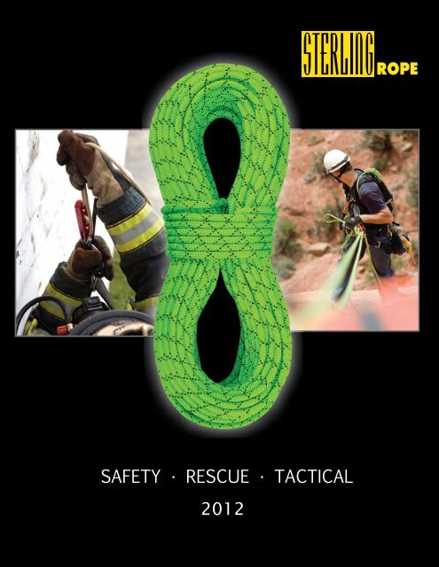 sterling rope safety rescue and tactical catalog 2012 english pdf