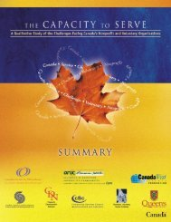 A Qualitative Study of the Challenges Facing Canada's Nonprofit ...