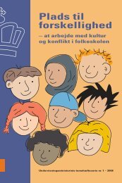Plads til forskellighed - Ministeriet for børn og undervisning ...