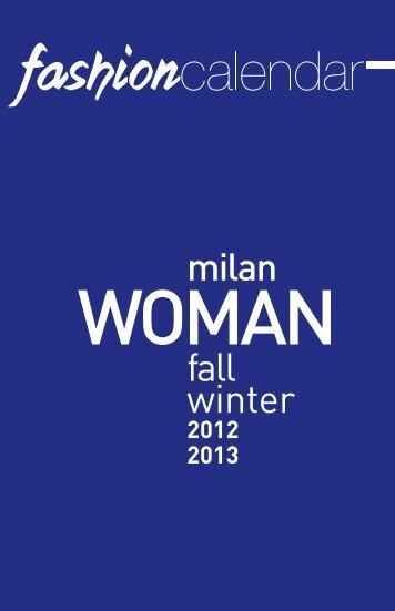 Siamo presenti su Fashion Calendar 2012. - Effe Emme Studio