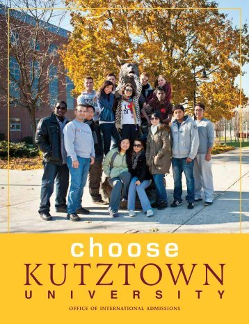 OFFICE OF INTERNATIONAL PROGRAMS - Kutztown University