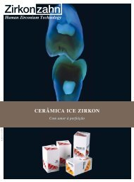 Gama de Cerâmica ICE Zirkon - Zirkonzahn