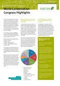 IUCN World Conservation Congress | p 2 Biodiversity in ... - WAZA - Page 4