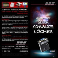Flyer 'Das Drahtlose Kabel' - DDS Daon