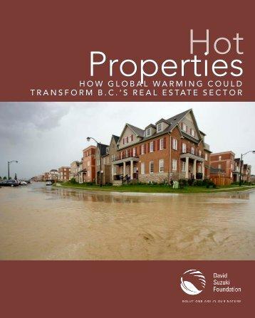 Hot properties - David Suzuki Foundation