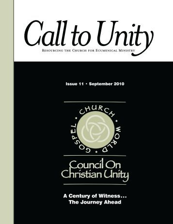 RESOURCING THE CHURCH FOR ECUMENICAL MINISTRy A ...