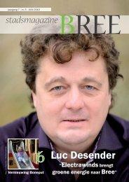 Luc Desender - Stad Bree
