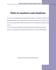 Note to teachers and students - Royards Publishing Company