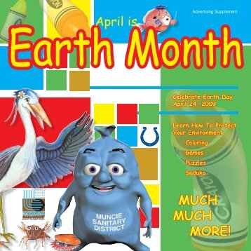 Download the Earth Month PDF - Muncie Sanitary District