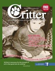 TAKE ONE - Critter Magazine