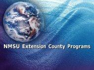 NMSU Extension County Programs