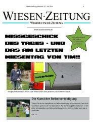 Wiesenzeitung Mittwoch 27.07.2011 - Du-bist-online.de