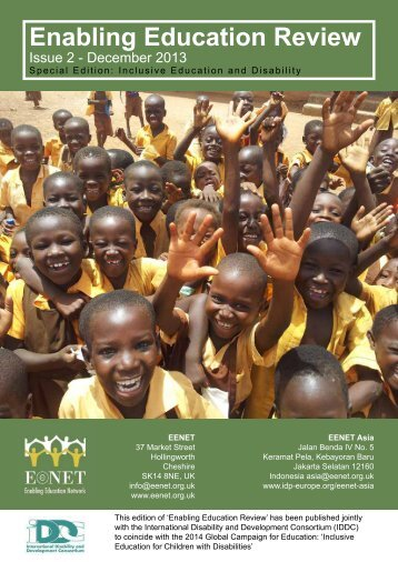 Enabling Education Review issue 2 ~ 2013