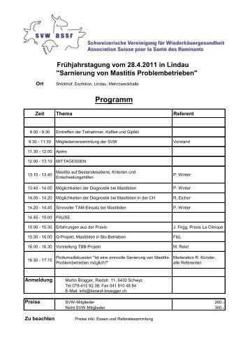 Programm - Vet-congress