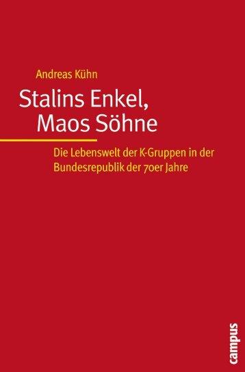 Stalins Enkel, Maps Söhne – die Lebenswelt der K ... - WordPress.com